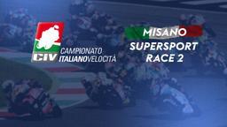 Supersport Misano. Race 2