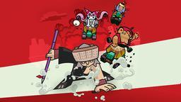 La feroce battaglia degli eserciti dei maiali e delle puzzole
