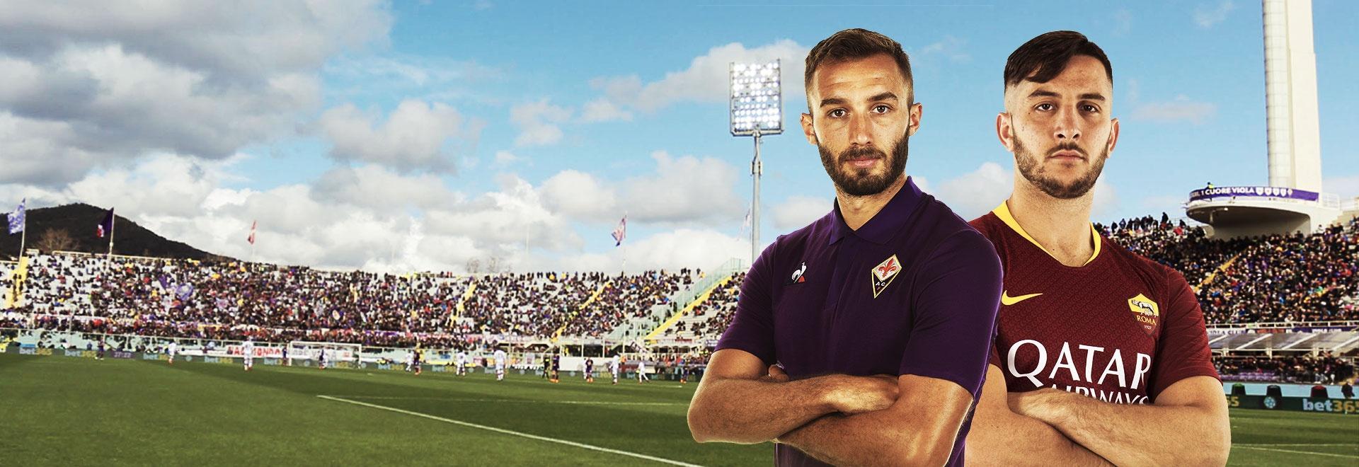 Fiorentina - Roma. 11a g.