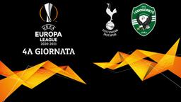 Tottenham - Ludogorets. 4a g.