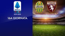 Verona - Torino. 16a g.