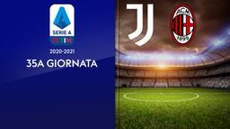 Juventus - Milan. 35a g.