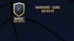 Warriors - Suns 28/01/21