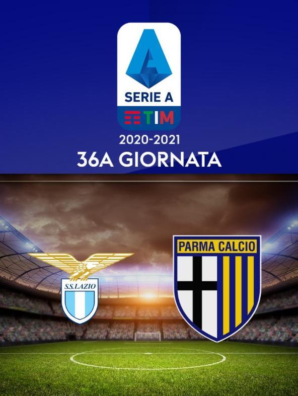 Lazio - Parma. 36a g.