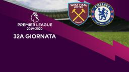 West Ham United - Chelsea. 32a g.