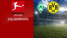 Werder Brema - Borussia D.. 23a g.