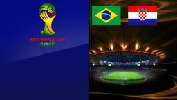 Brasile - Croazia. Gruppo A. 1a giornata