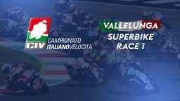 Superbike Vallelunga. Race 1