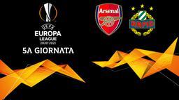 Arsenal - Rapid Vienna. 5a g.