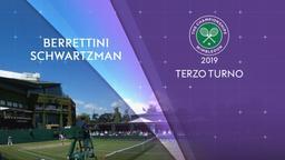 Berrettini - Schwartzman. 3° Turno