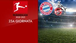 Bayern Monaco - Colonia. 23a g.