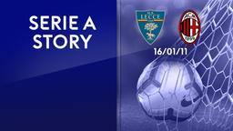 Lecce - Milan 16/01/11