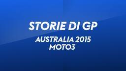 Australia, Phillip Island 2015. Moto3