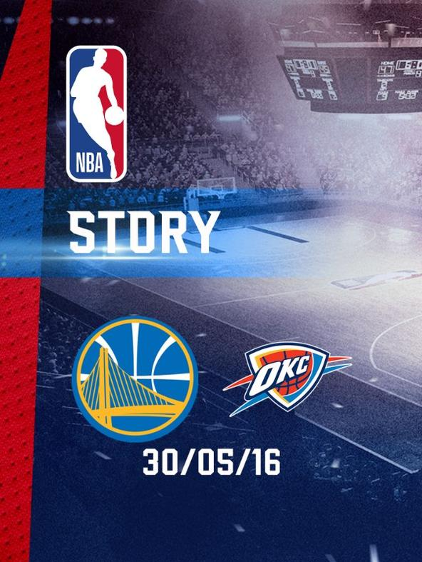 Golden State - Oklahoma City 30/05/16. West. Conf. Finals Gara 7