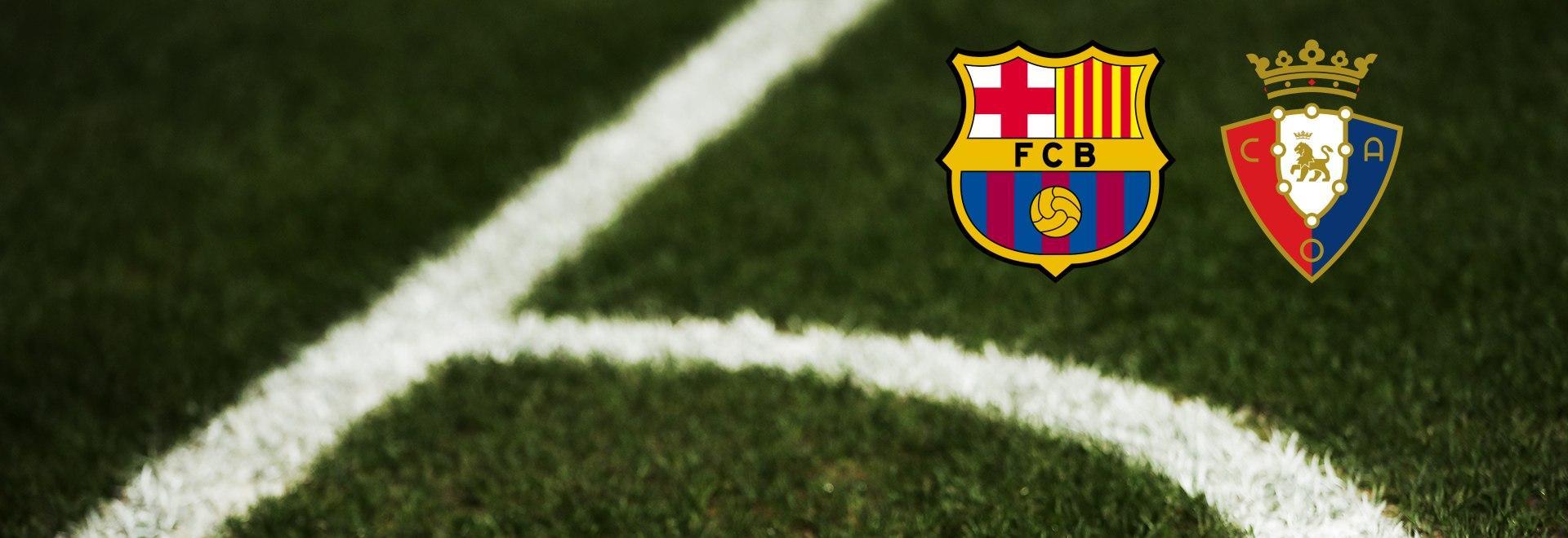 Barcellona - Osasuna. 37a g.