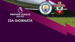 Manchester City - Southampton. 33a g.