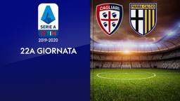 Cagliari - Parma. 22a g.