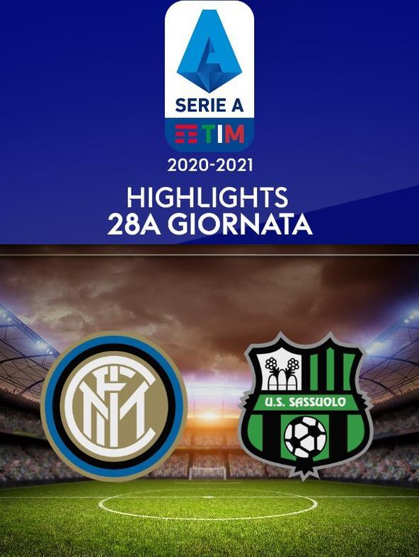 Highlights Serie A: Inter - Sassuolo. 28a g.