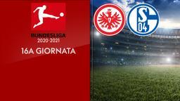 Eintracht Francoforte - Schalke. 16a g.