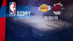 LA Lakers - Miami 17/01/13