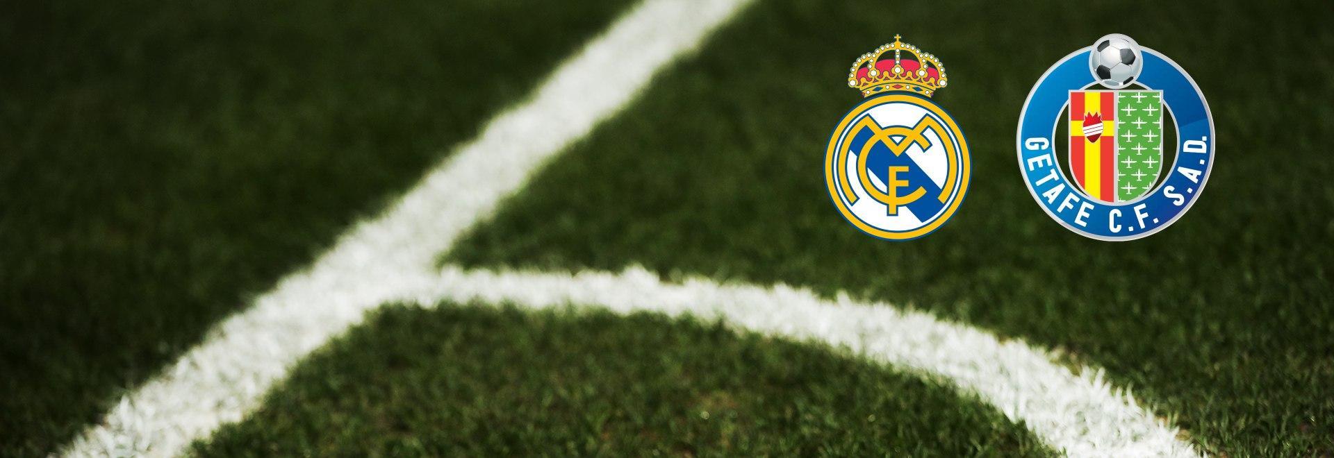 Real Madrid - Getafe. 33a g.