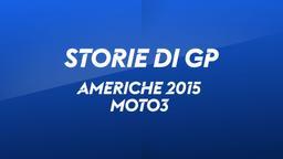 Americhe 2015. Moto3