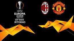 Milan - Manchester United. Ottavi Ritorno