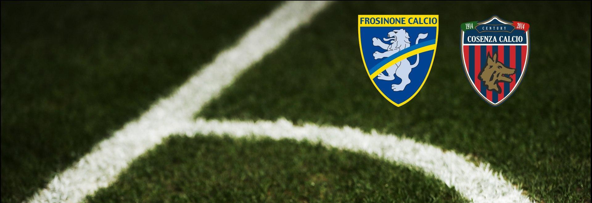 Frosinone - Cosenza. 8a g.