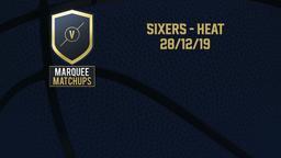 Sixers - Heat 28/12/19