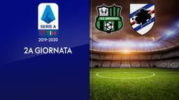 Sassuolo - Sampdoria. 2a g.