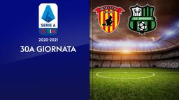 Benevento - Sassuolo. 30a g.