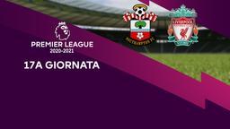Southampton - Liverpool. 17a g.