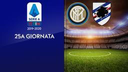 Inter - Sampdoria. 25a g.
