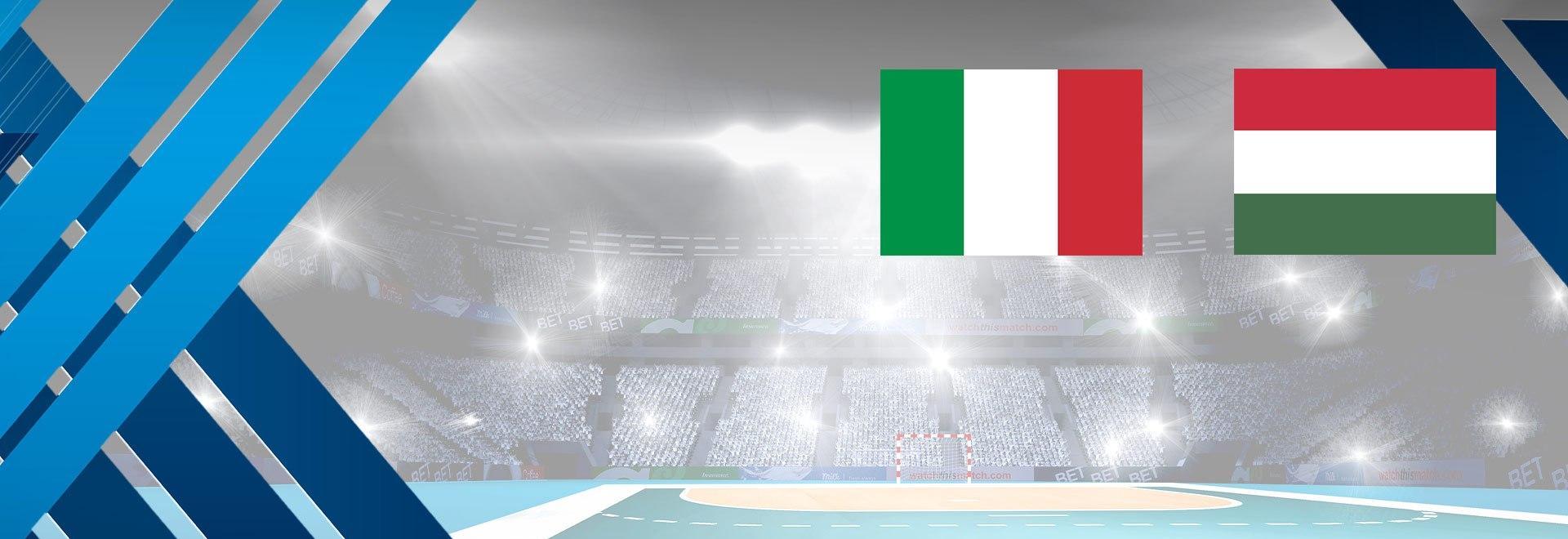 Italia - Ungheria. Playoff Ritorno
