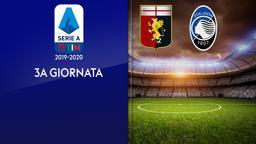 Genoa - Atalanta. 3a g.