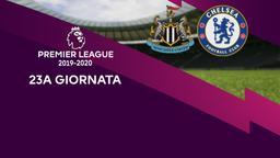 Newcastle - Chelsea. 23a g.