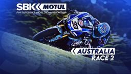 GP Australia. Race 2