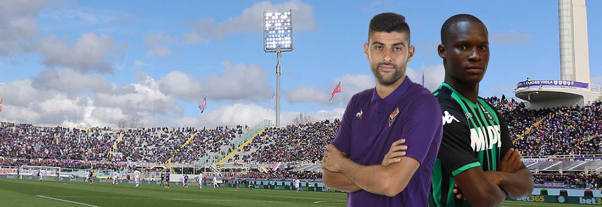 Fiorentina - Sassuolo. 34a g.
