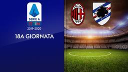 Milan - Sampdoria. 18a g.