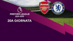 Arsenal - Chelsea. 20a g.