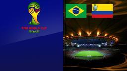 Brasile - Colombia. Quarti di finale