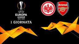 Eintracht F. - Arsenal. 1a g.