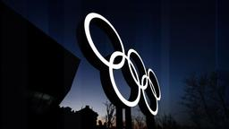 Flag and Family - Home of the Olympics