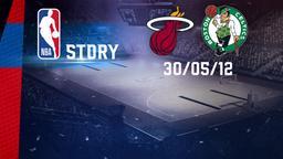 Miami - Boston 30/05/12. Playoff. Western Conference Finale Gara 2