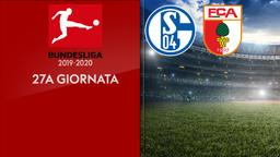 Schalke - Augsburg. 27a g.