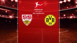 Stoccarda - Borussia Dortmund. 28a g.