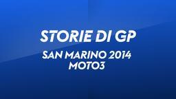 San Marino, Misano 2014. Moto3