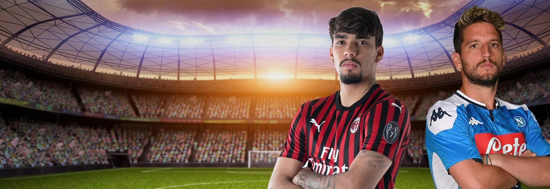 Milan - Napoli. 13a g.