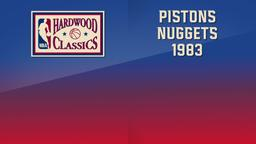 Pistons - Nuggets 1983