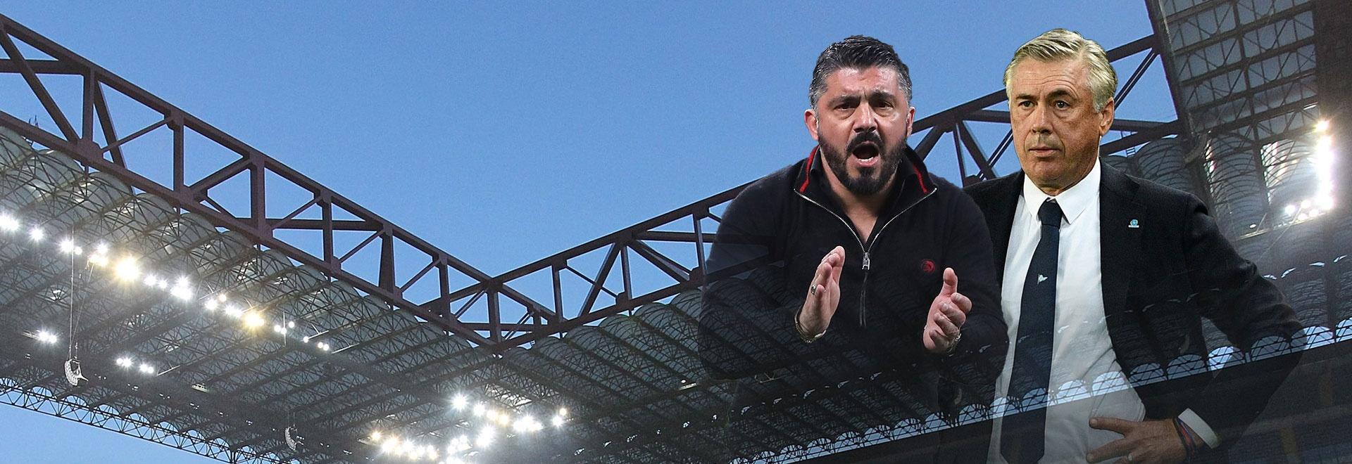 Milan - Napoli. 21a g.